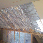 roof structure insulation